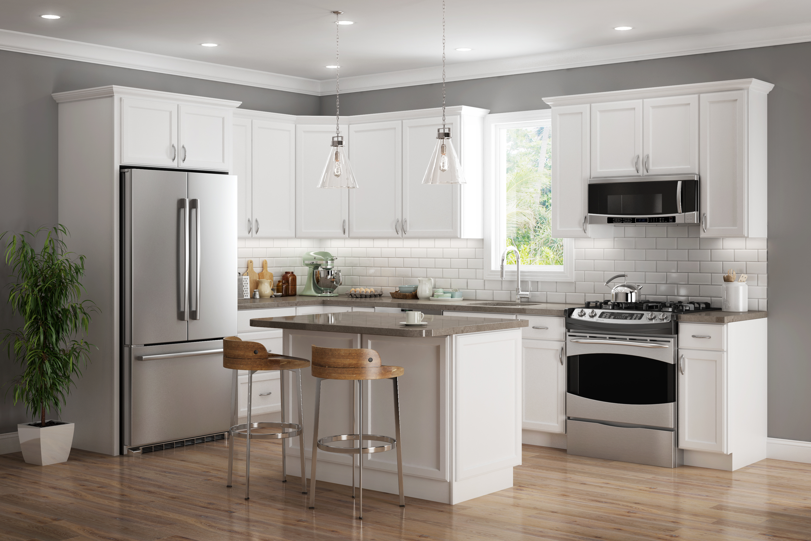 Kitchen Remodeling : AMC Contractors LLC – Plymouth White